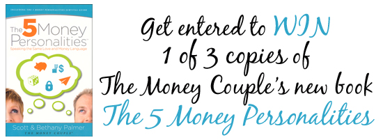 The 5 Money Personalities Giveaway